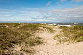 Sand and Ocean in Salvo, Outer Banks, North Carolina