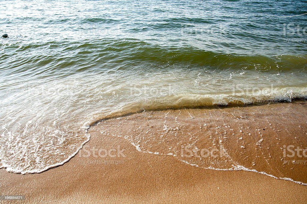 Sand and Sea royalty-free stock photo