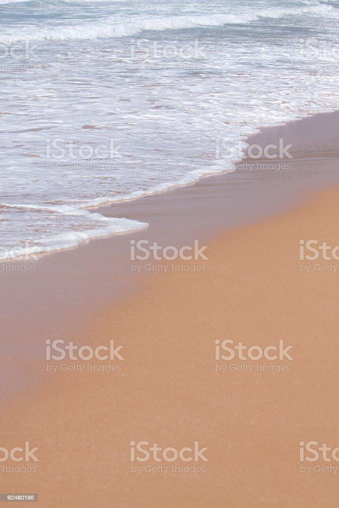 Sand und Meer Lizenzfreies stock-foto