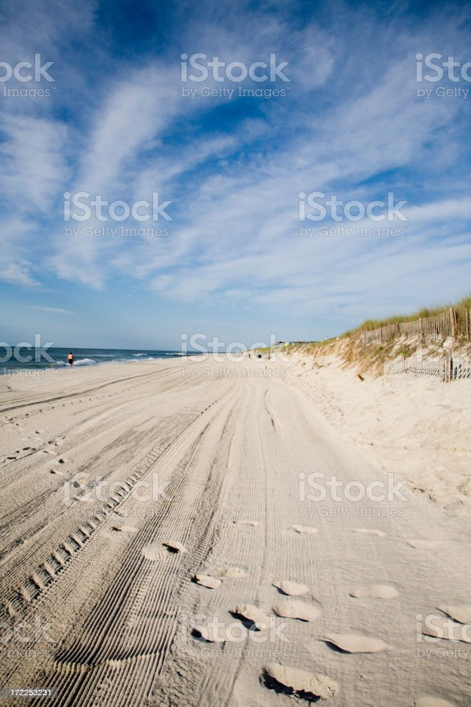 Sand and Sky - 1 royalty-free stock photo