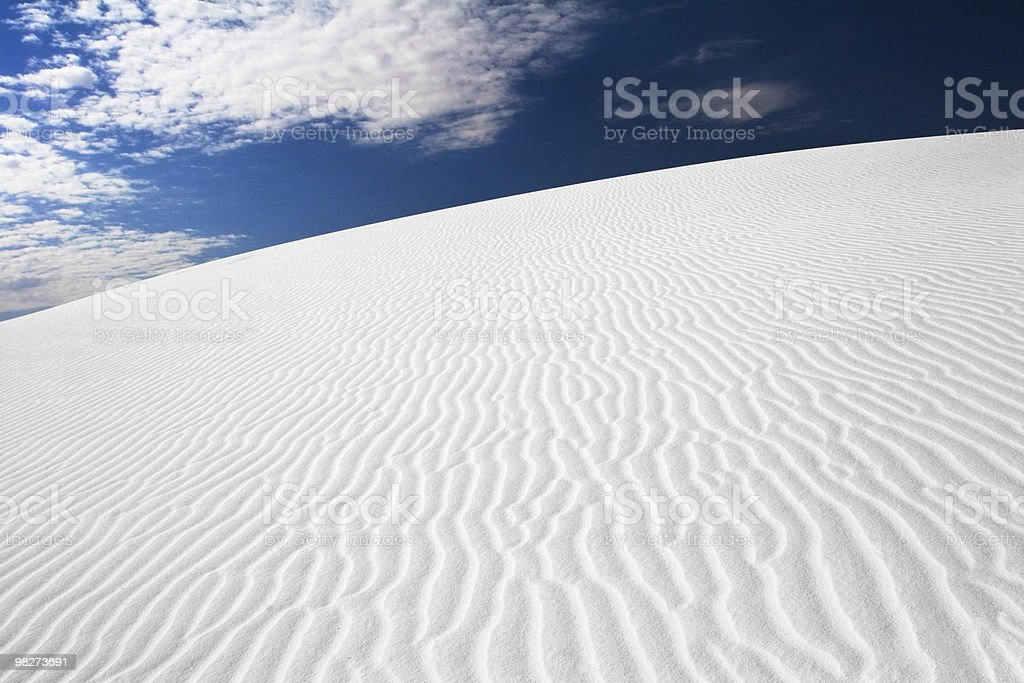 Sand and Sky royalty-free stock photo
