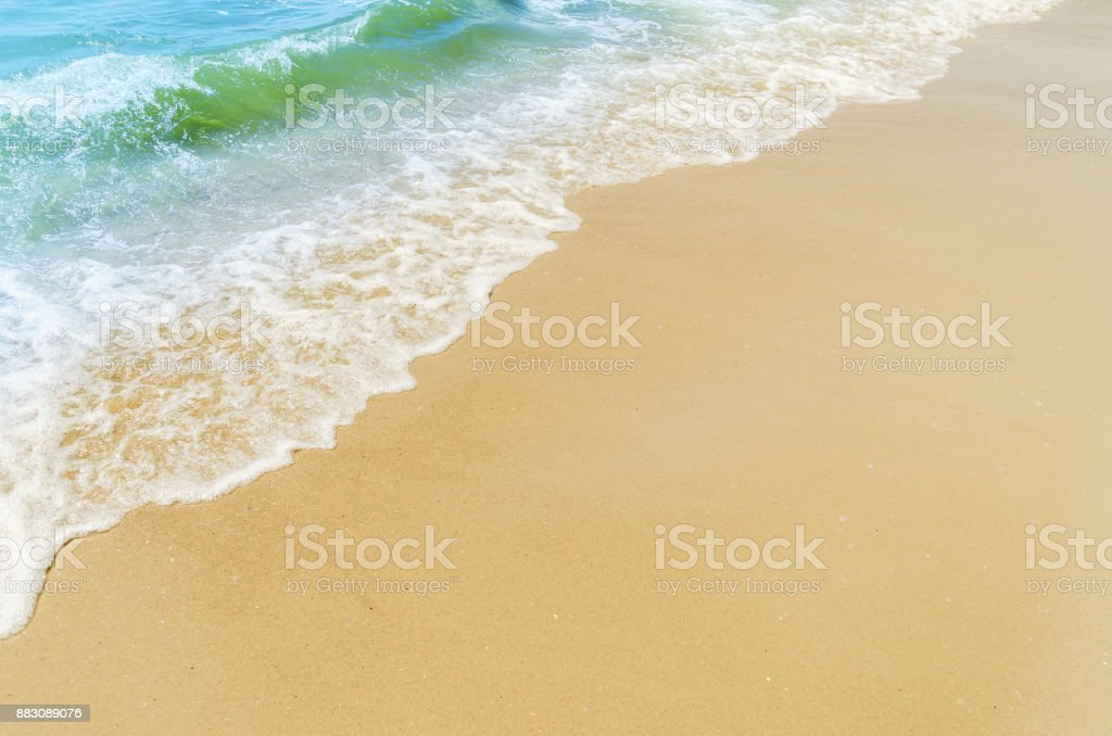 sand and water on the beach as good background stock photo more