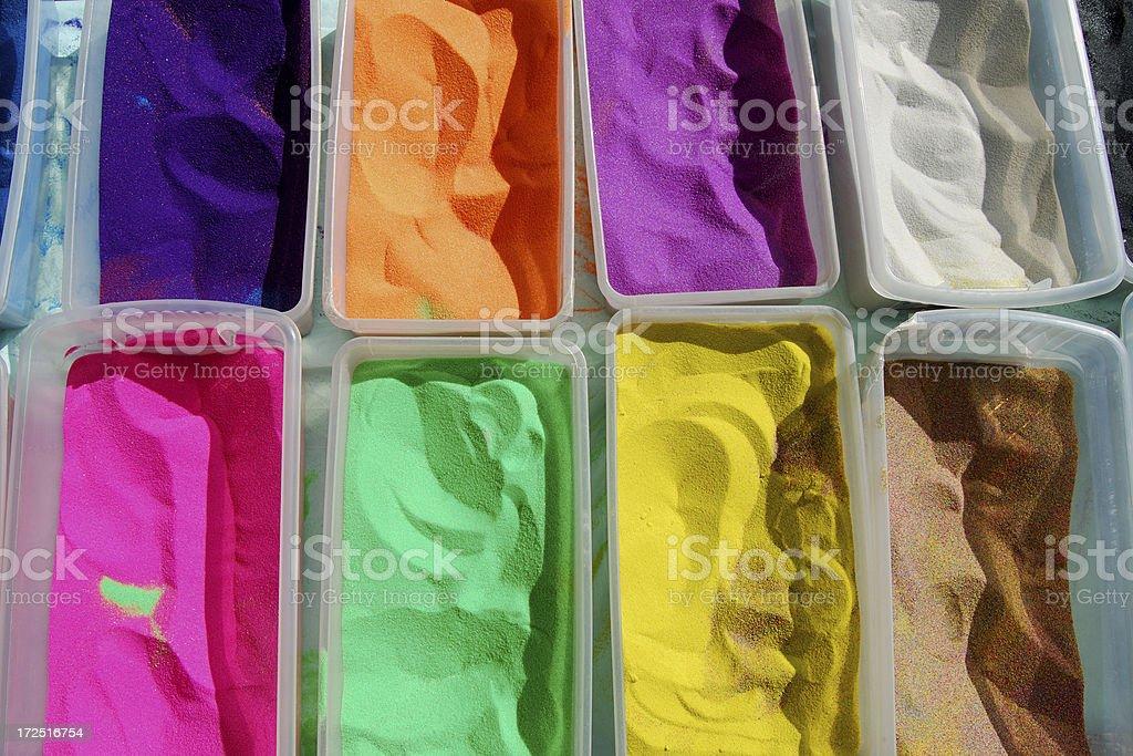 Sand Art royalty-free stock photo