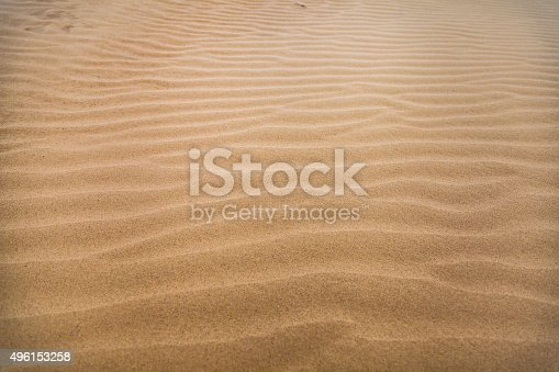 sand dunes rippled by the wind - background