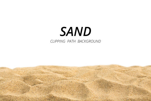 Sand background witn clipping path. Sand background witn clipping path. sand stock pictures, royalty-free photos & images