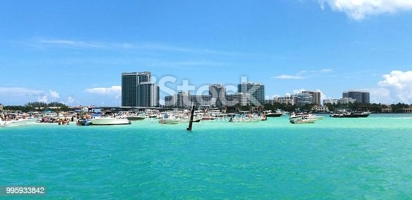 Sand bar in Miami