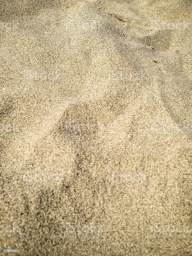 Sand beach at summer royalty-free stock photo