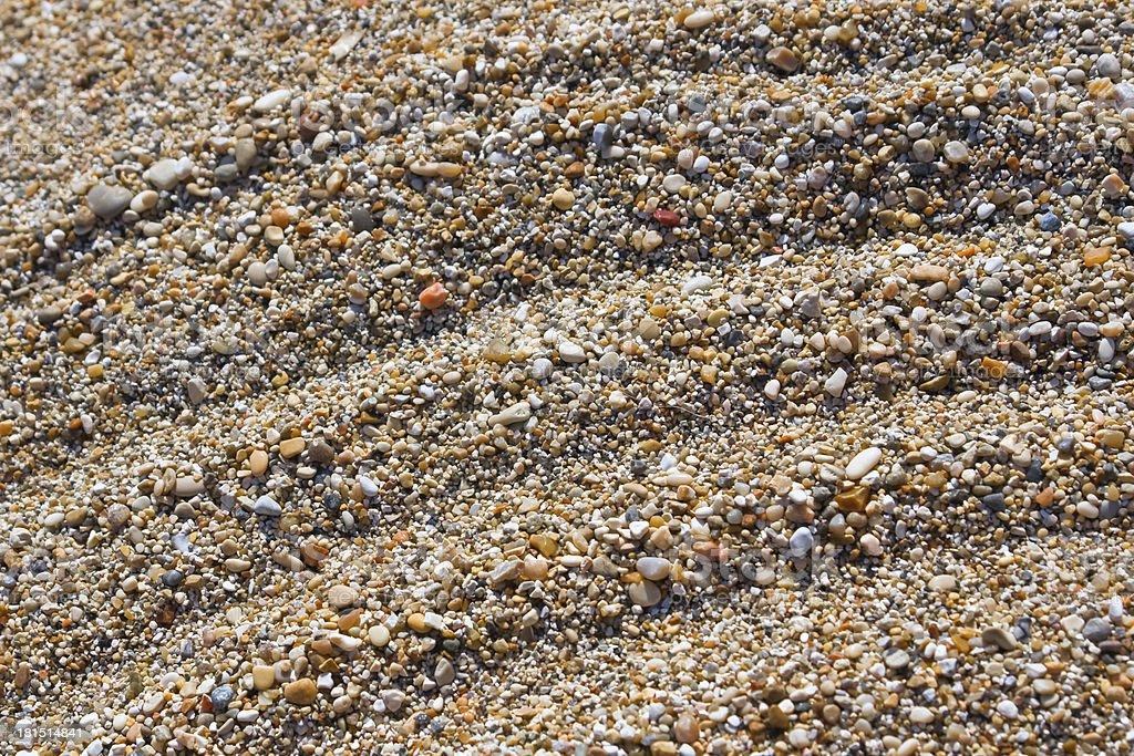 Sand beach background stock photo