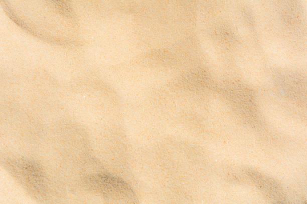 wzory tła piaszczystej plaży - piasek zdjęcia i obrazy z banku zdjęć