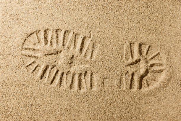 kum plaj stok fotoğrafı