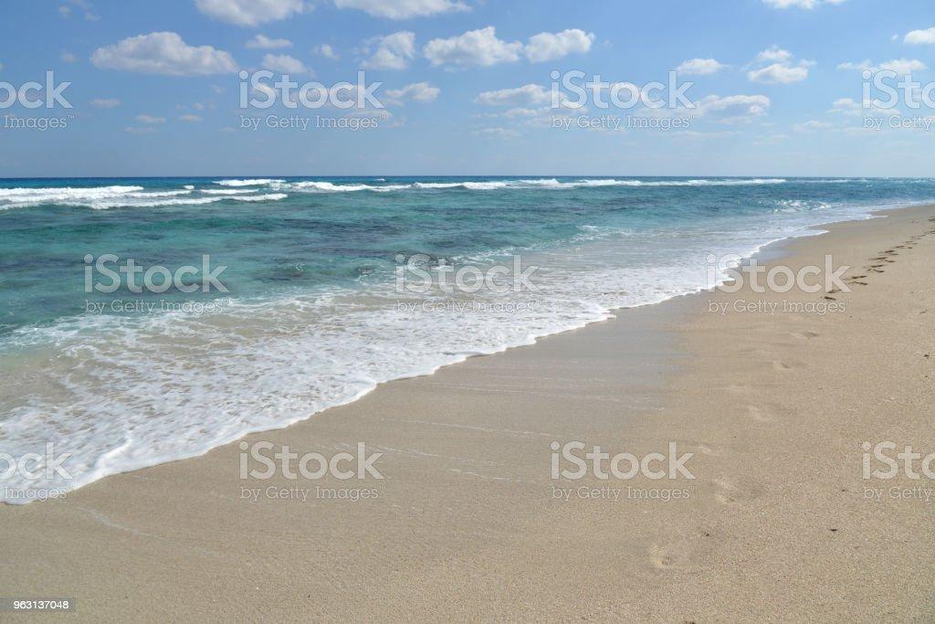 Sand beach - Royaltyfri Avkoppling Bildbanksbilder