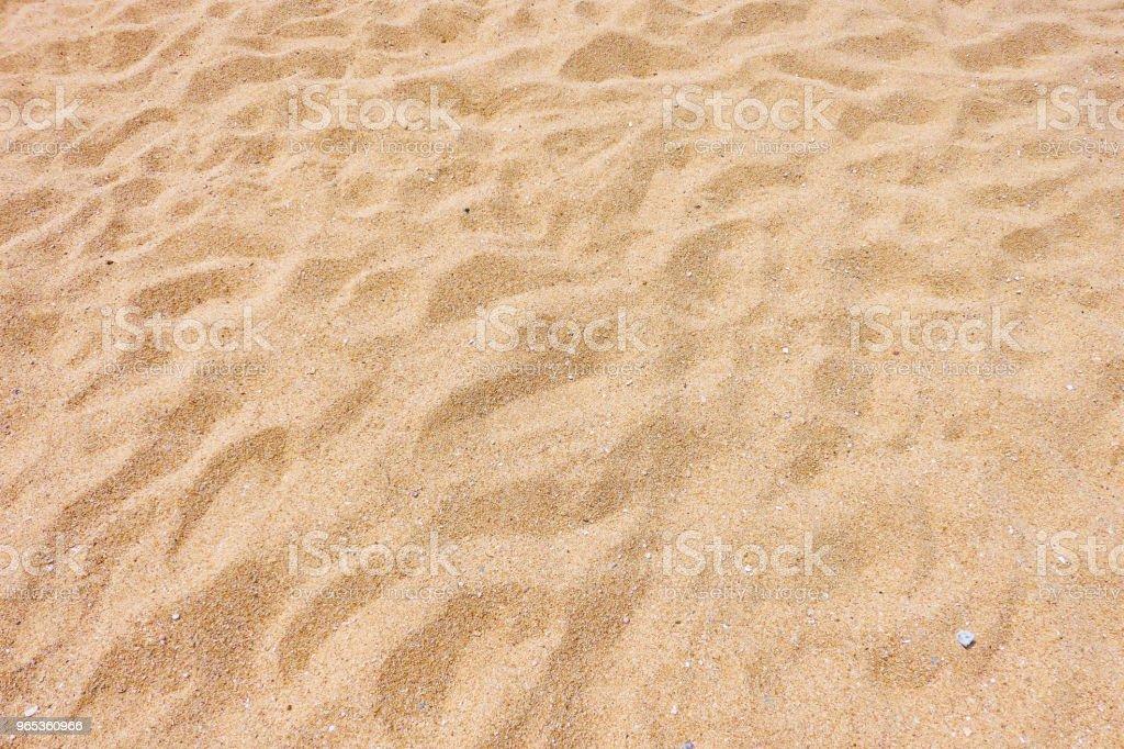 Sable de la plage - Photo de Abstrait libre de droits