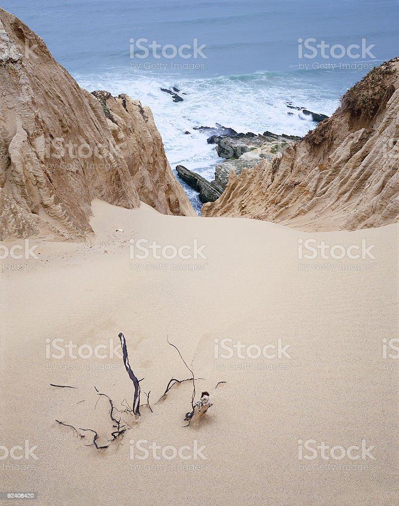 Sand Canyon royalty-free stock photo