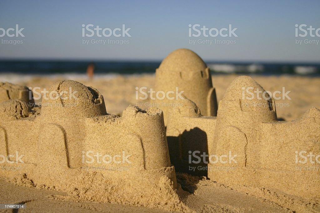 sand city beach stock photo