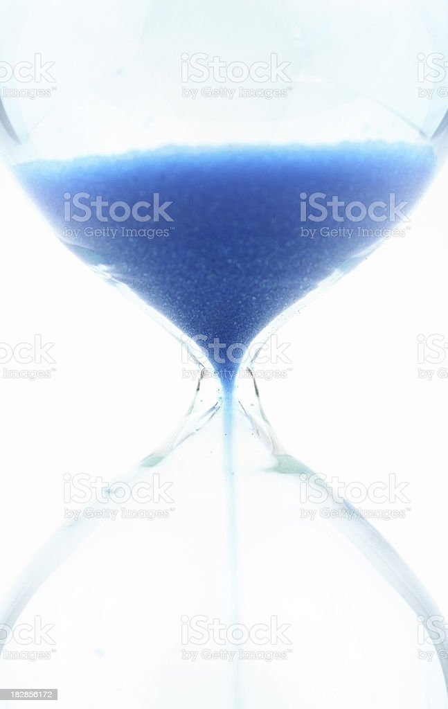 Sand clock stock photo