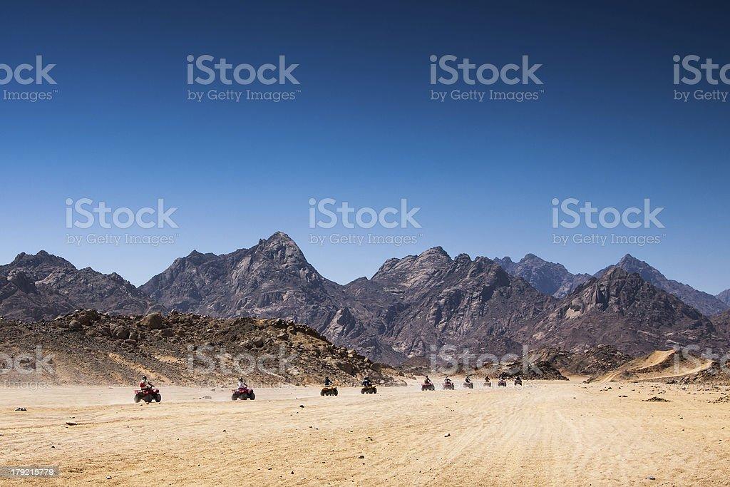 Sand desert, Egypt royalty-free stock photo