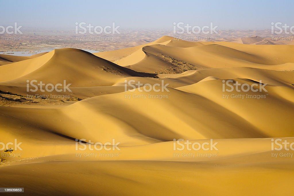 Sand desert stock photo