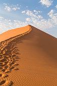 istock Sand Dune 45 in Sossusvlei, Namibia 526151430