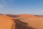 istock Sand Dune 45 in Sossusvlei, Namibia 526151656