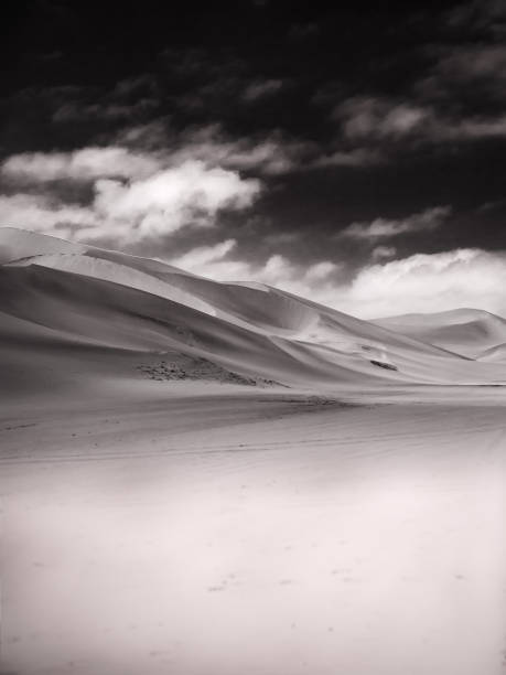 Sand Dune and Sky stock photo