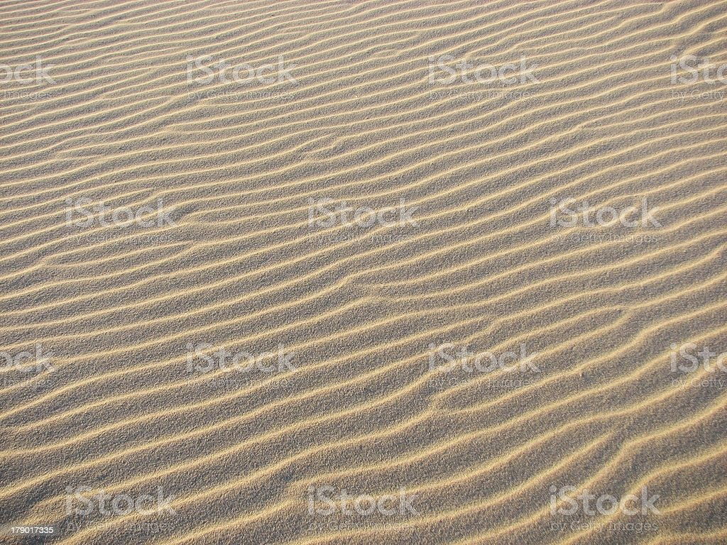 Sand dune. Background. Texture. stock photo