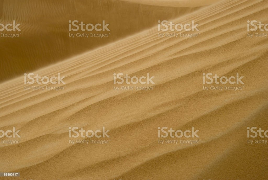 Sand Dune Close-up royalty-free stock photo