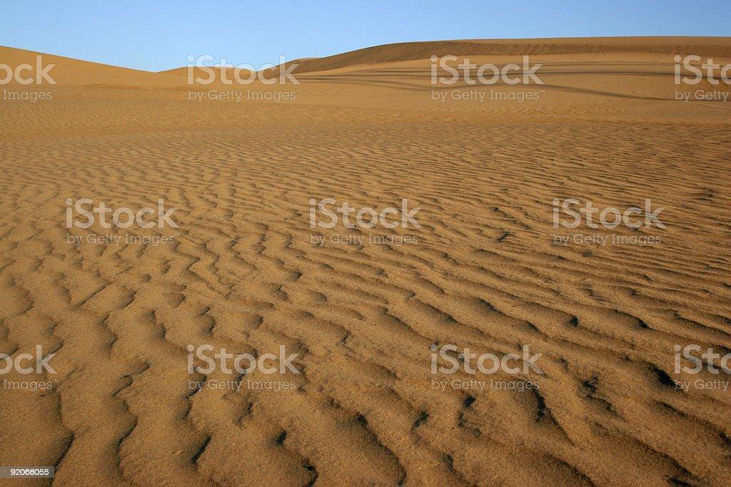 Sand Dune Desert royalty-free stock photo