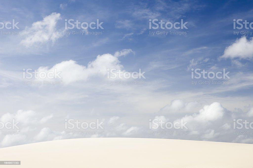 Sand Dune, Jericoacoara, Brazil royalty-free stock photo