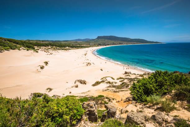 ビ、カディス、スペイン、アンダルシアの砂丘 - アンダルシア州 ストックフォトと画像