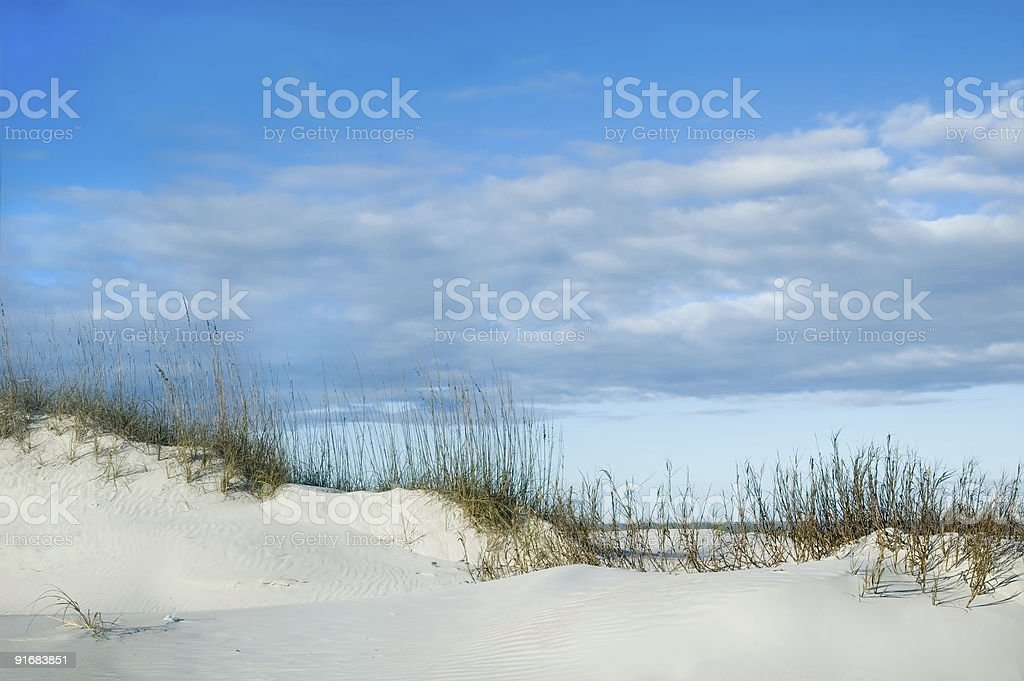 Sand Dune Ridge royalty-free stock photo