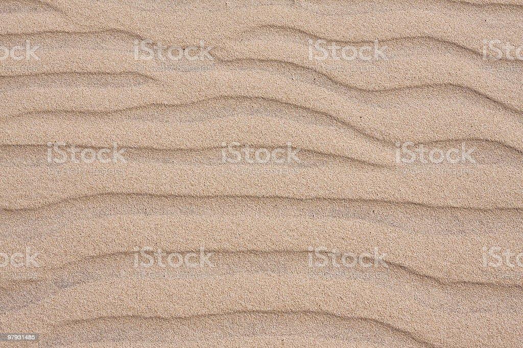 sand dune ripples royalty-free stock photo