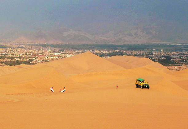 Sand dunes 01 stock photo