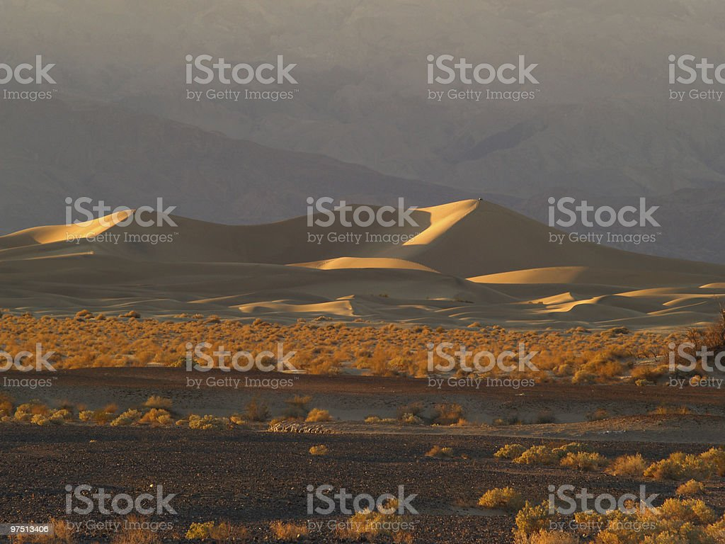 Sand dunes at Death Valley National Park, California. royalty-free stock photo