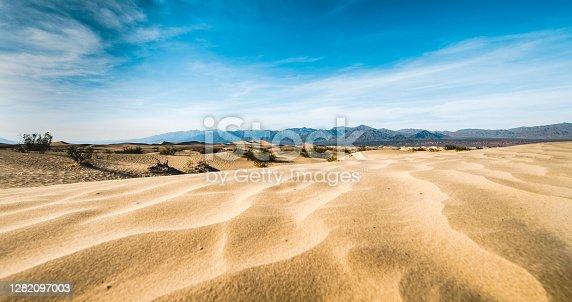 istock Sand dunes at Death Valley 1282097003