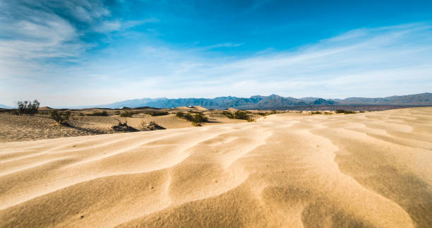 Sand dunes at Death Valley stock photo