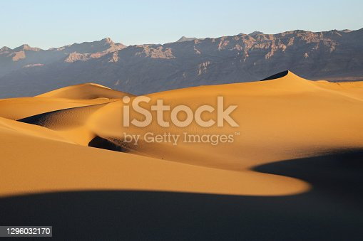 Sand dunes at Death Valley National Park\nCalifornia