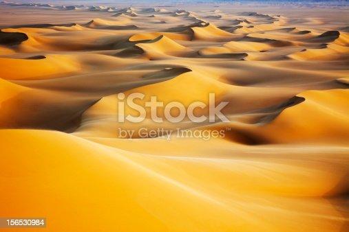 istock Sand dunes at sunrise 156530984