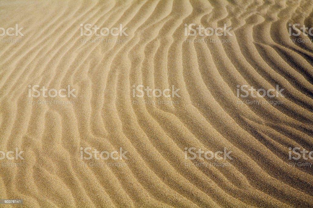 Sand dunes background royalty-free stock photo