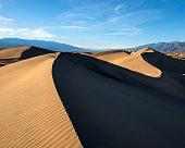 mesquite sand dunes in Death Valley, California