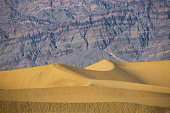 Sand dunes in the famous Death Valley National Park, California, USA