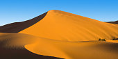 Fascinating view of the sand dunes