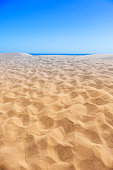 The vast sand dunes at Maspalomas, Gran Canaria, Spain.