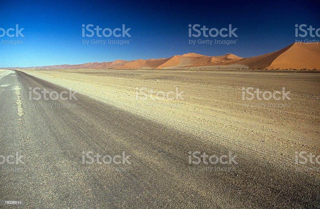Sand dunes of the namid desert 免版稅 stock photo