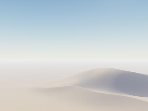 Sand Dunes on Horizon