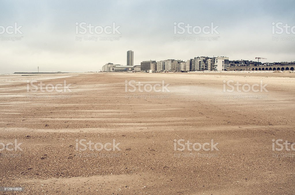 sand dunes on North Sea​​​ foto