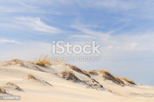 Sand dunes on Outer Banks, North Carolina.