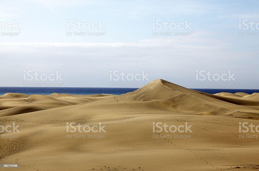 모래 언덕 royalty-free 스톡 사진