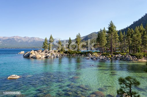 Lake Tahoe is a freshwater alpine lake located in the Sierra Nevada