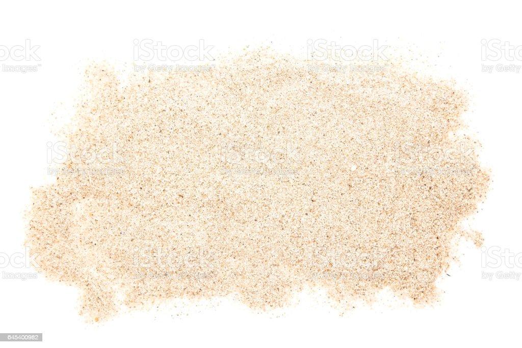 Sand heap stock photo