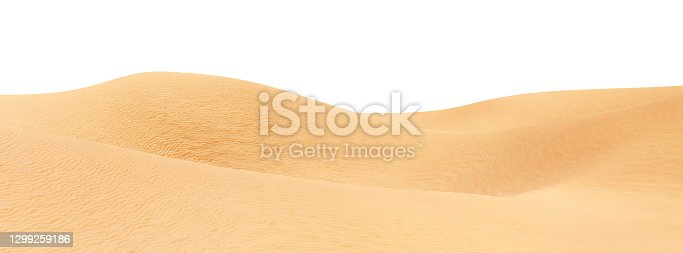 View of the Black desert panorama, Egypt